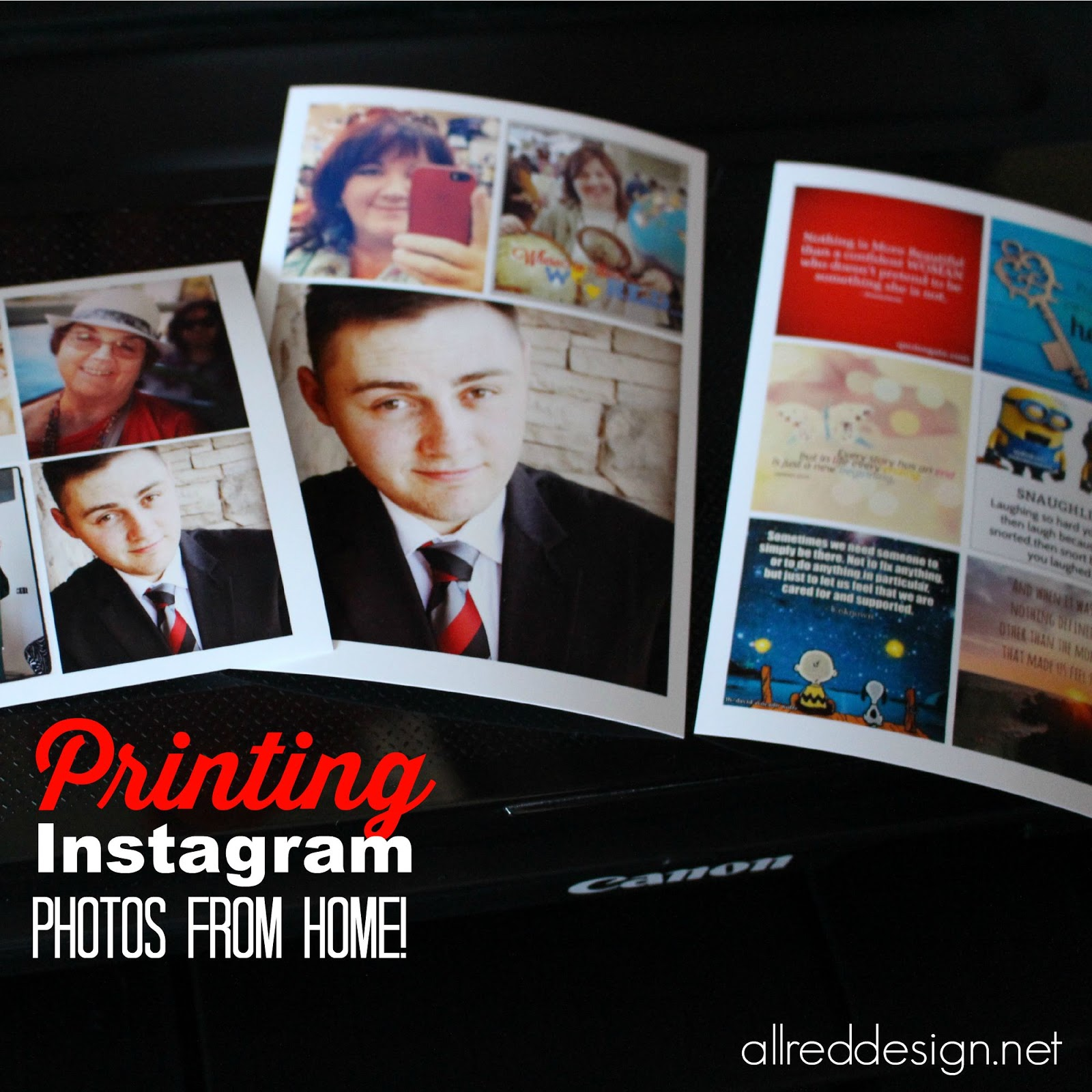 How to print instagram photos at home for Style at home instagram