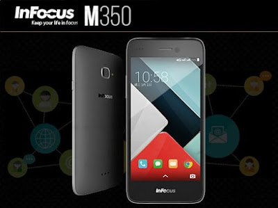 Infocus M350: 5 inch HD,1.5 GHz 64 bit Quadcore Android Phone Specs, Price