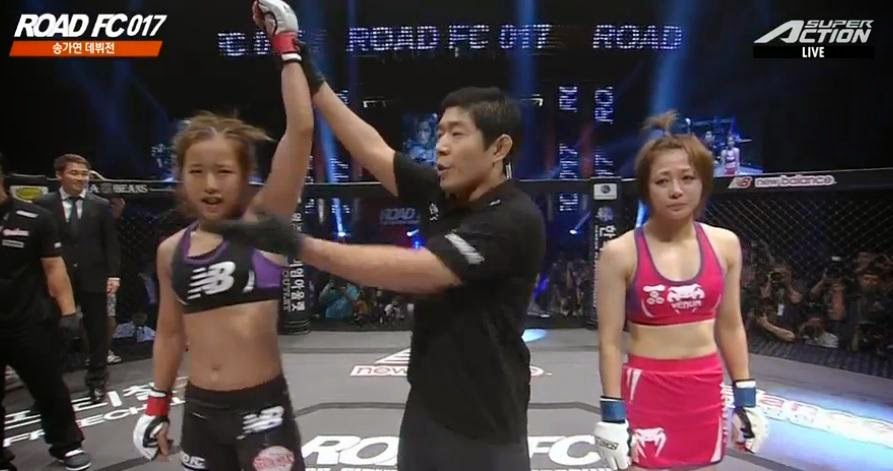 roommate song gayeon wins debut match professional mma fighter daily pop news