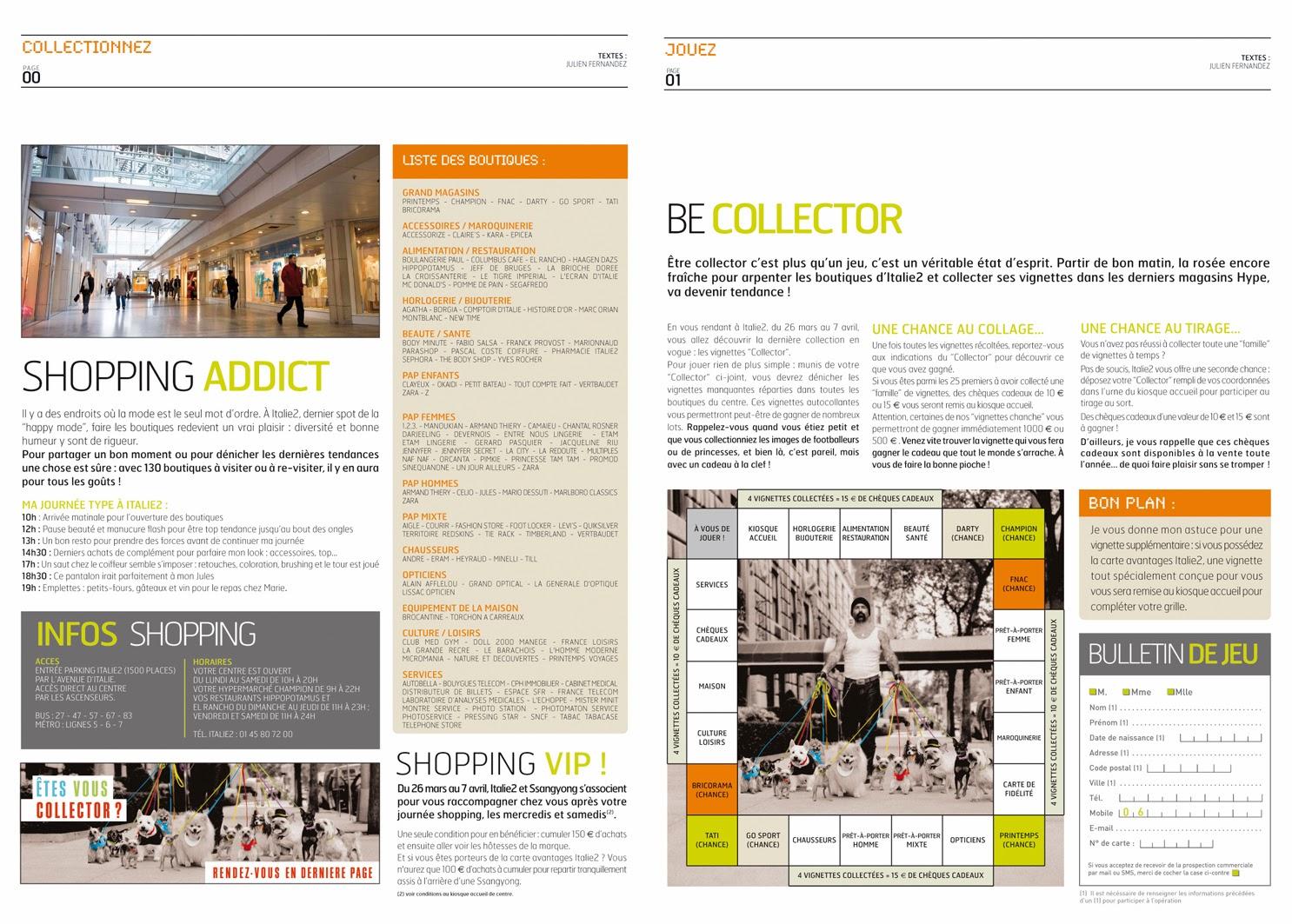directeur artistique  italie2    collector    encart presse