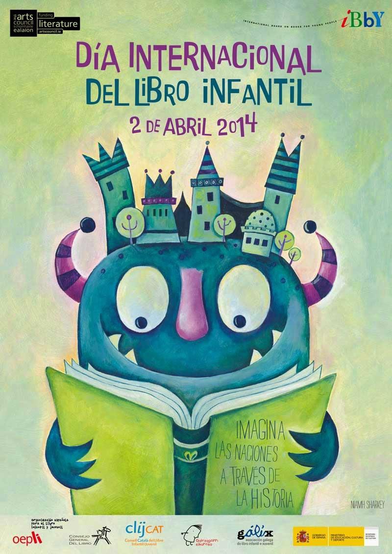 Mensaje y cartel  Día Internacional del Libro Infantil 2014