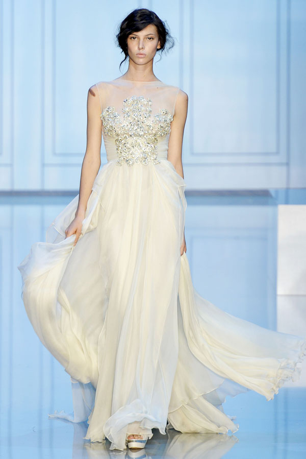 H tel de mode elie saab fall 2011 couture paris haute for How to become a haute couture designer