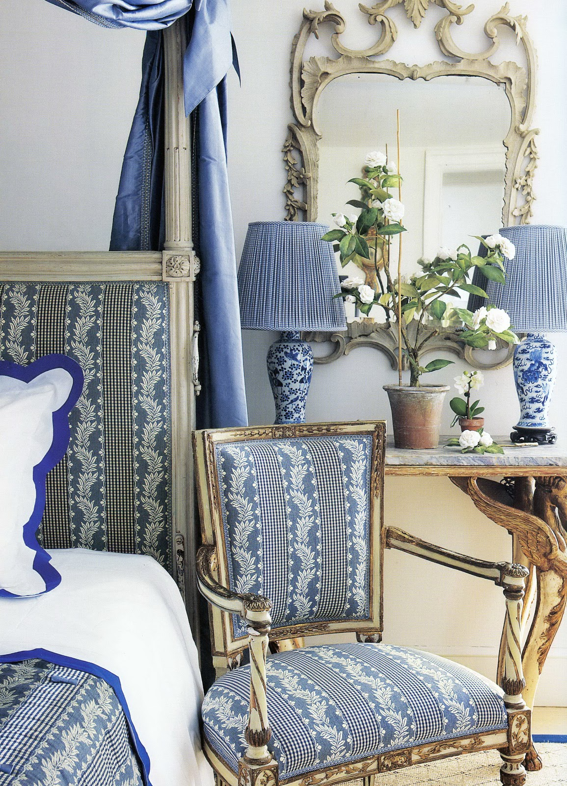 Decorating With Blue And White Unique Of Decorating with Blue and White Photos