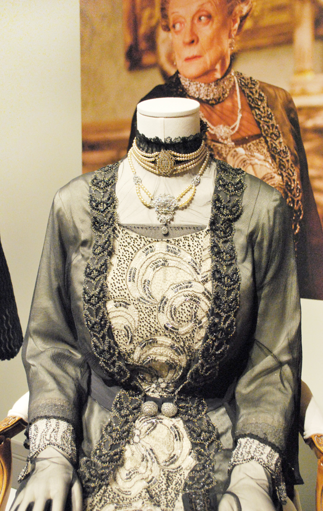 """Dressing Downton,"" costumes from Downton Abbey at the Virginia Historical Society 