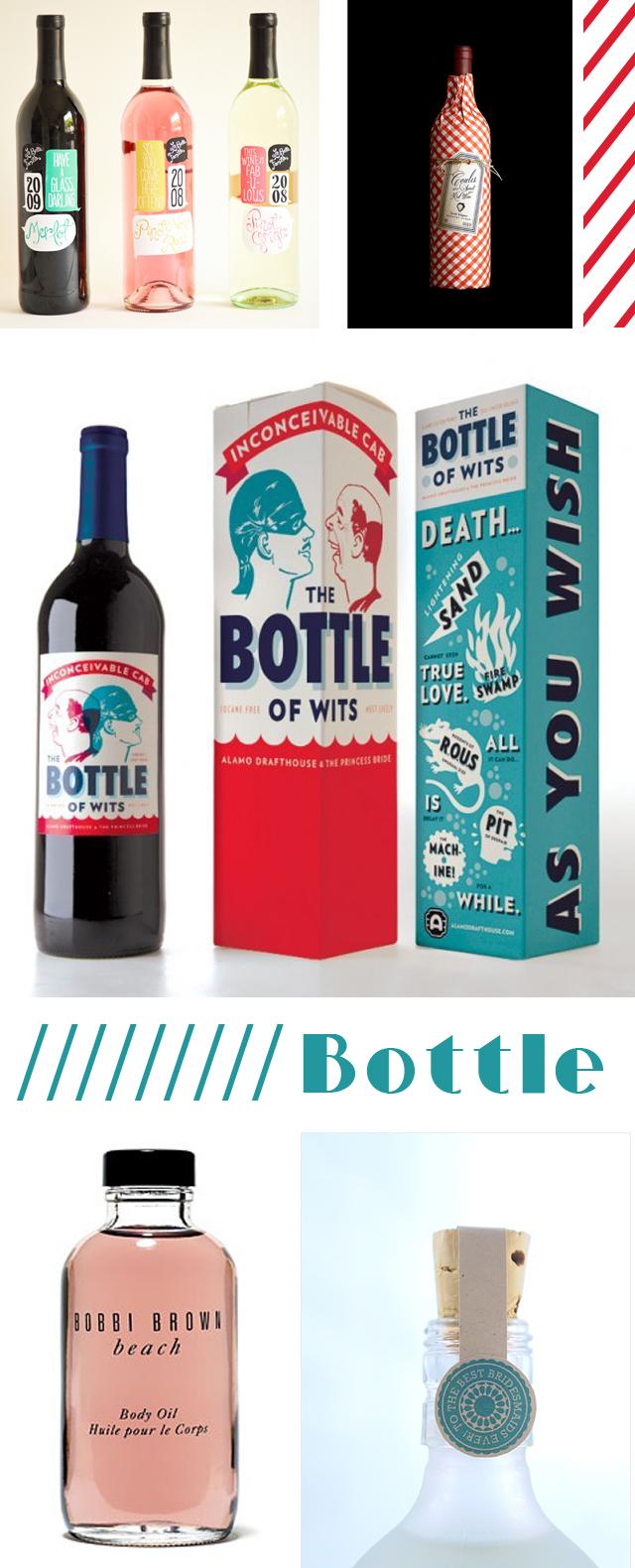 packaging  bouteille de vin