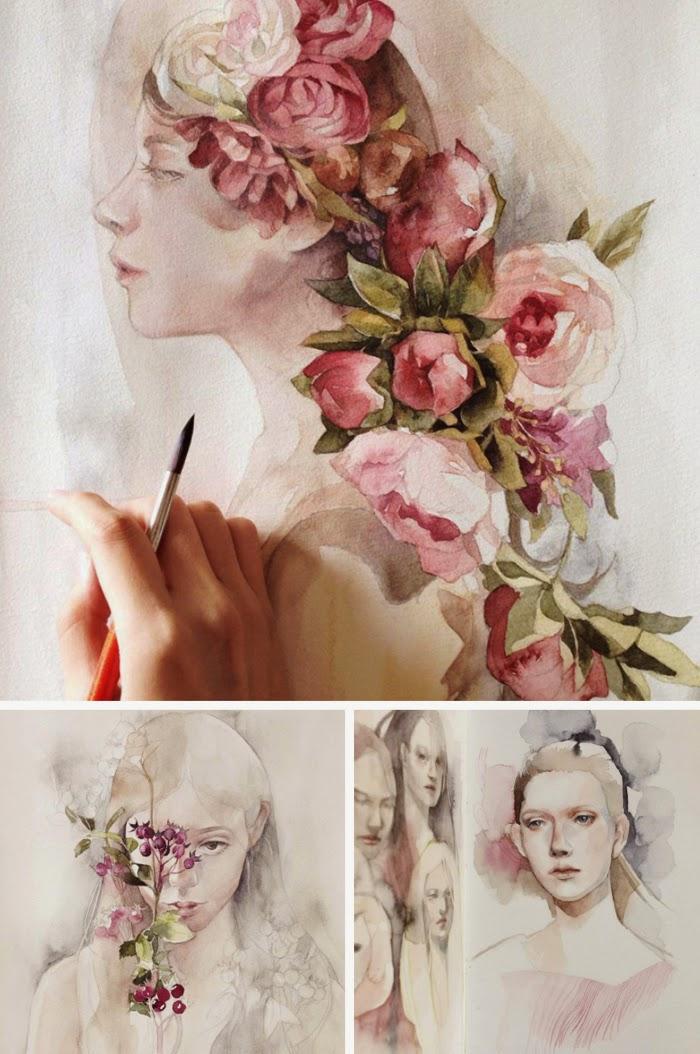 As ilustrações de Valerie Chua