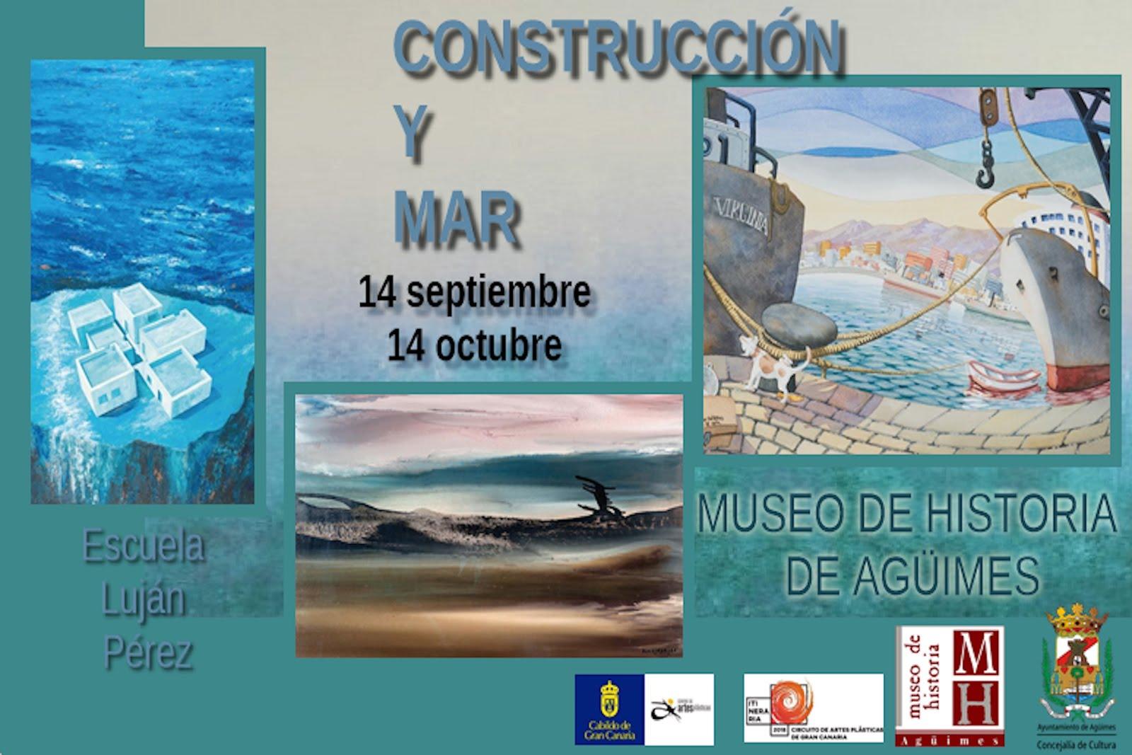 """""""Construcción y mar"""" en el Museo de Historia de Agüimes"""