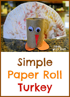 Preschool crafts for kids simple thanksgiving toilet for Toilet paper roll crafts thanksgiving