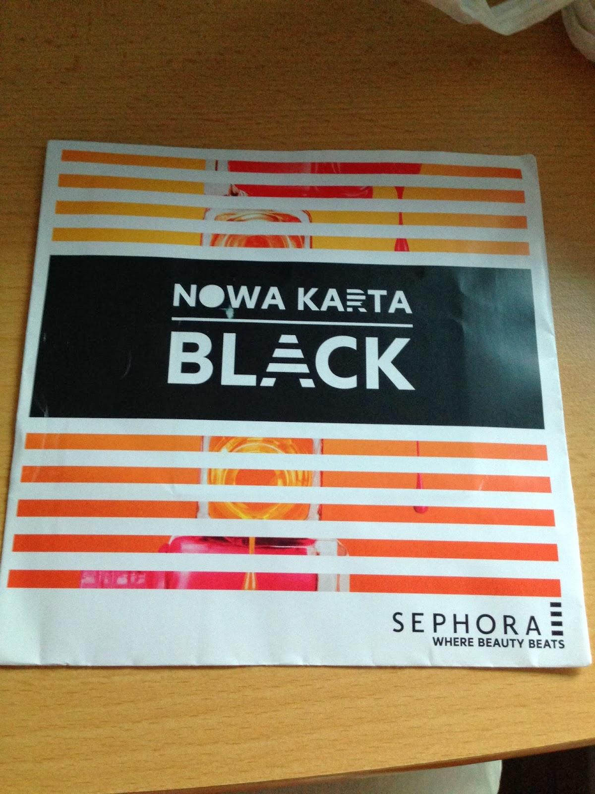 Pauloszkowy Blog Sephora Black