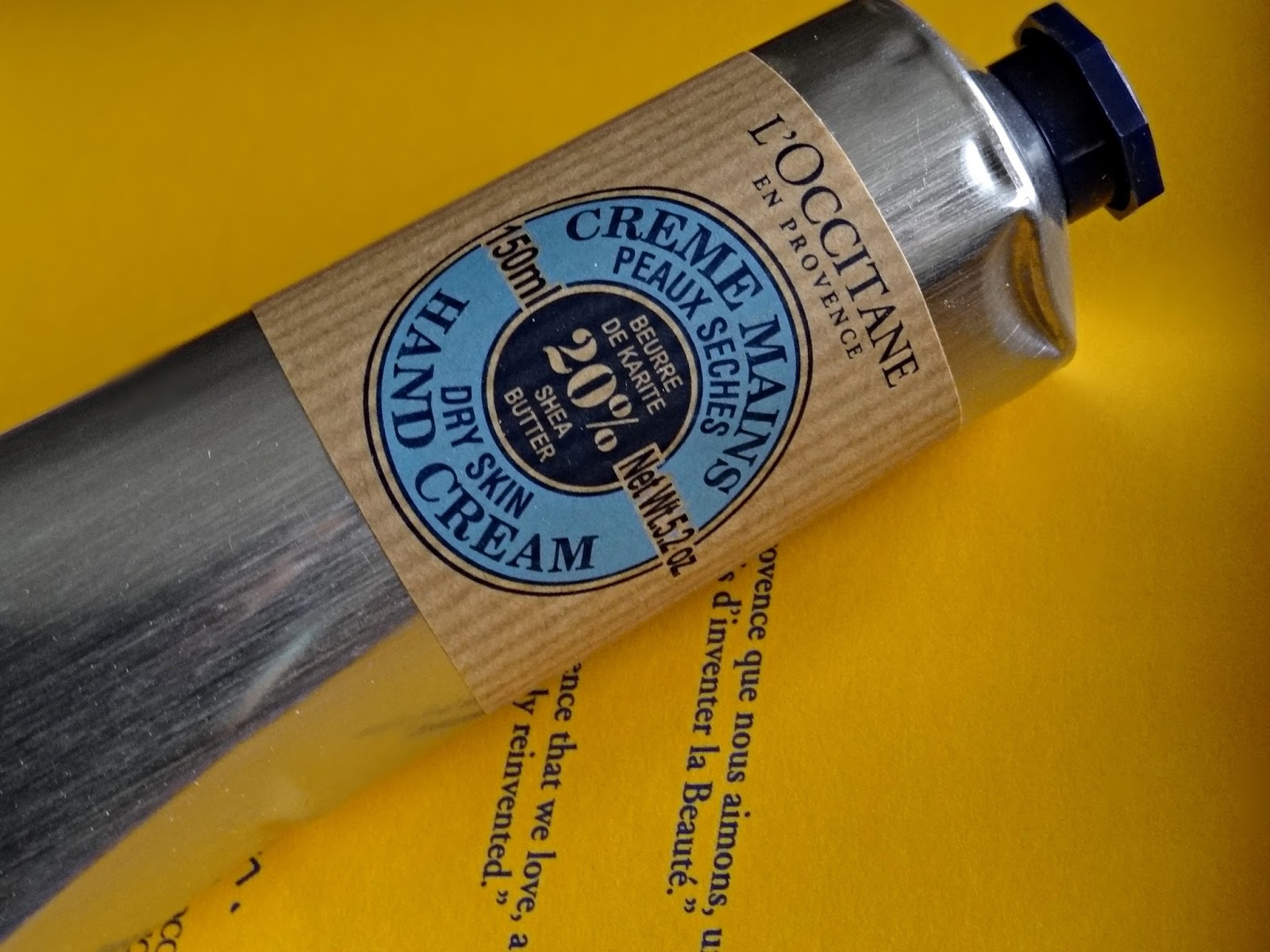 L'Occitane The Secret To Beautiful hands Shea Butter Hand Cream
