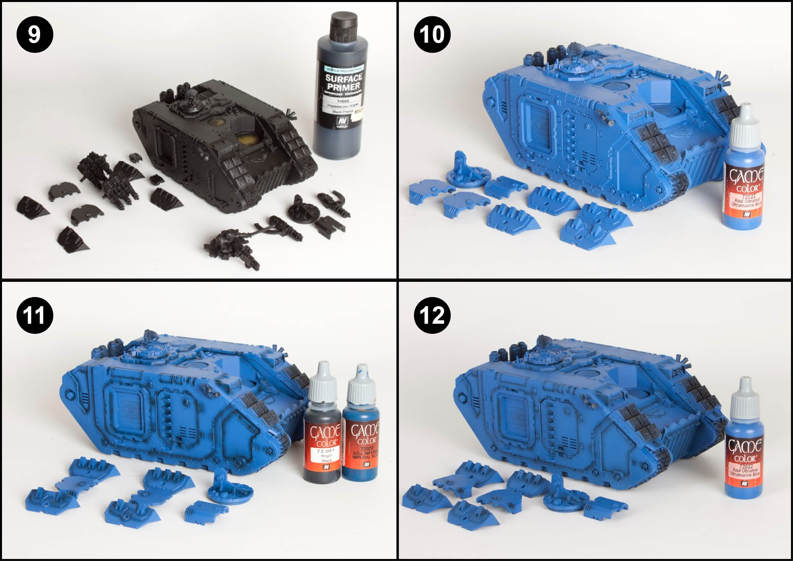 Using Guilliman Blue Paint