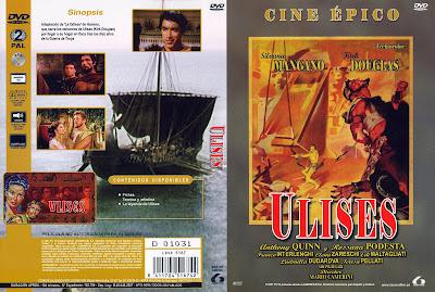 Ulises (1954)   Caratula   Cine clásico