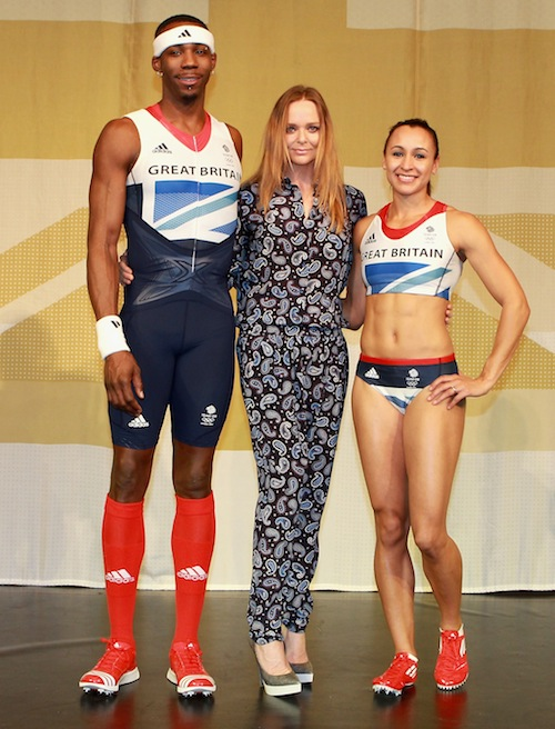 Stella McCartney and adidas Launch the Team GB Olympic Kit at the Tower of London
