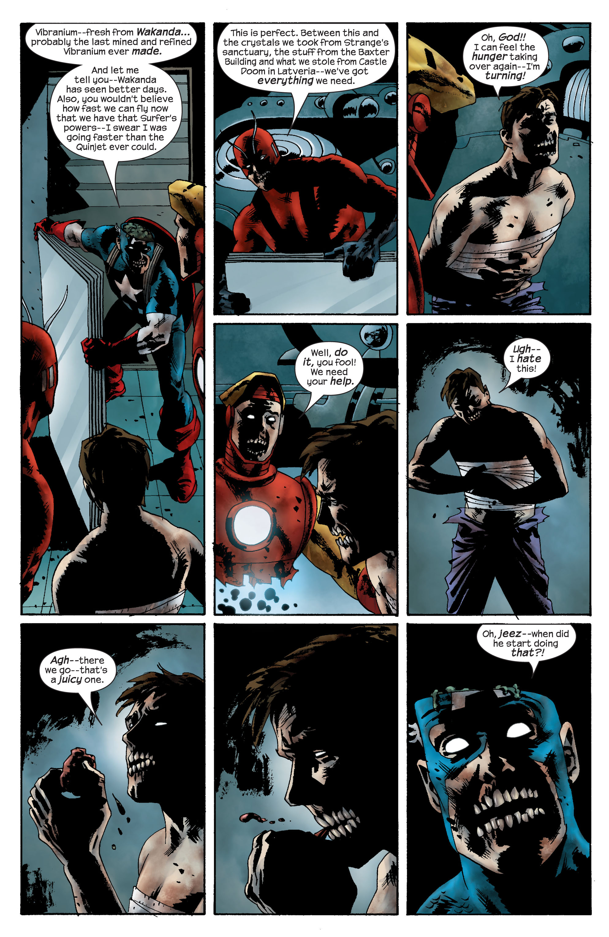 Marvel Zombies (2006) Issue #4 #4 - English 15