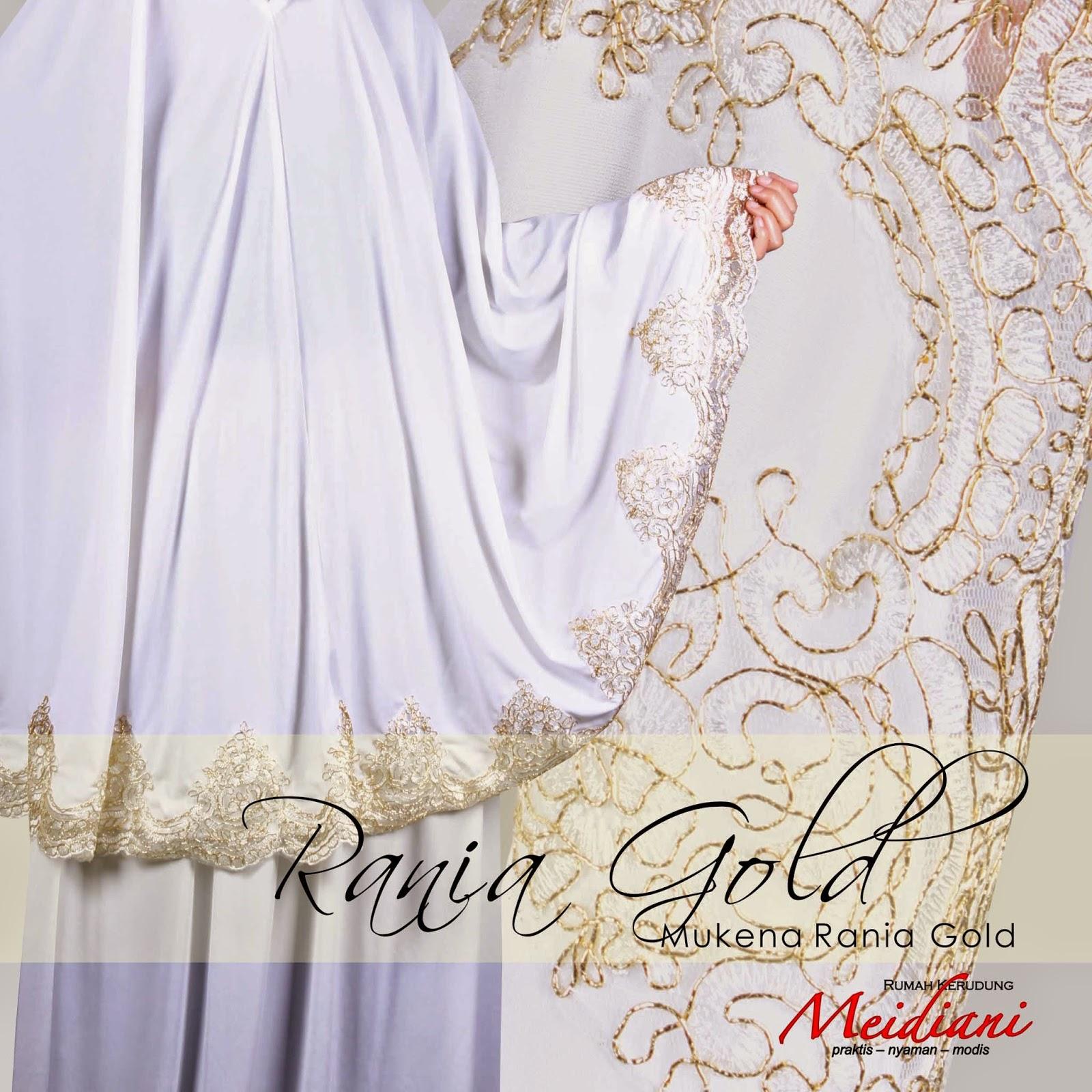 Mukena Rania Gold