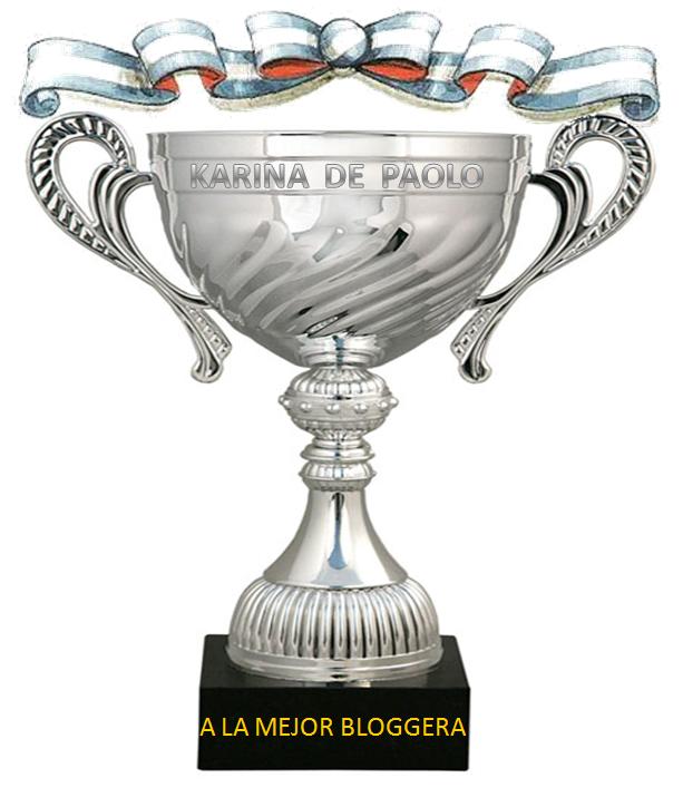 PREMIO MEJOR BLOGGERA