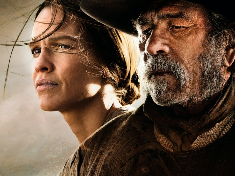 Póster y tráiler de 'The homesman', de Tommy Lee Jones