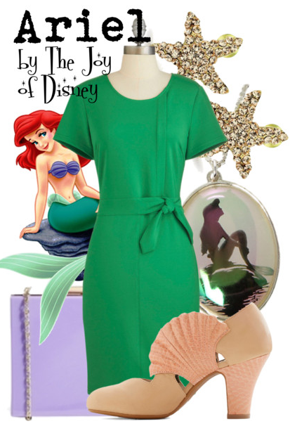 Ariel Outfit, Little Mermaid Disneybound