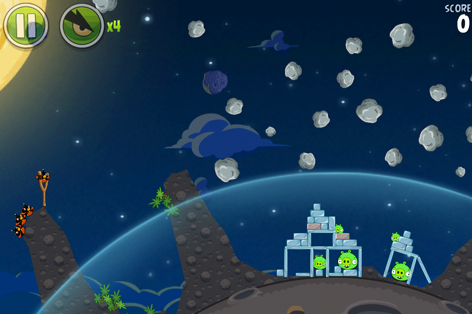 100 free games download angry birds space
