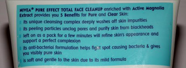 Nivea Total Face Cleanup