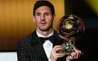 FÚTBOL-Messi y Del Bosque los mejores del año
