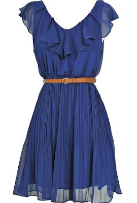 Womens Stylish Blue Dress