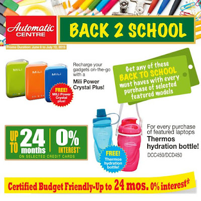 AUTOMATIC CENTRE: BACK 2 SCHOOL