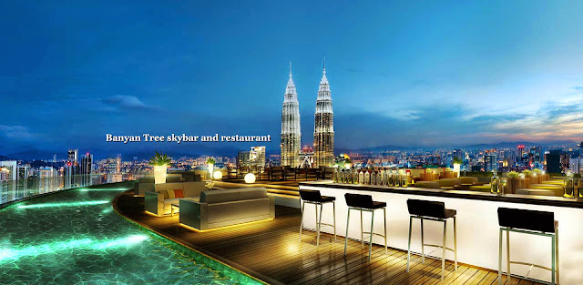 Banyan Tree Sky Bar Kuala Lumpur Malaysia