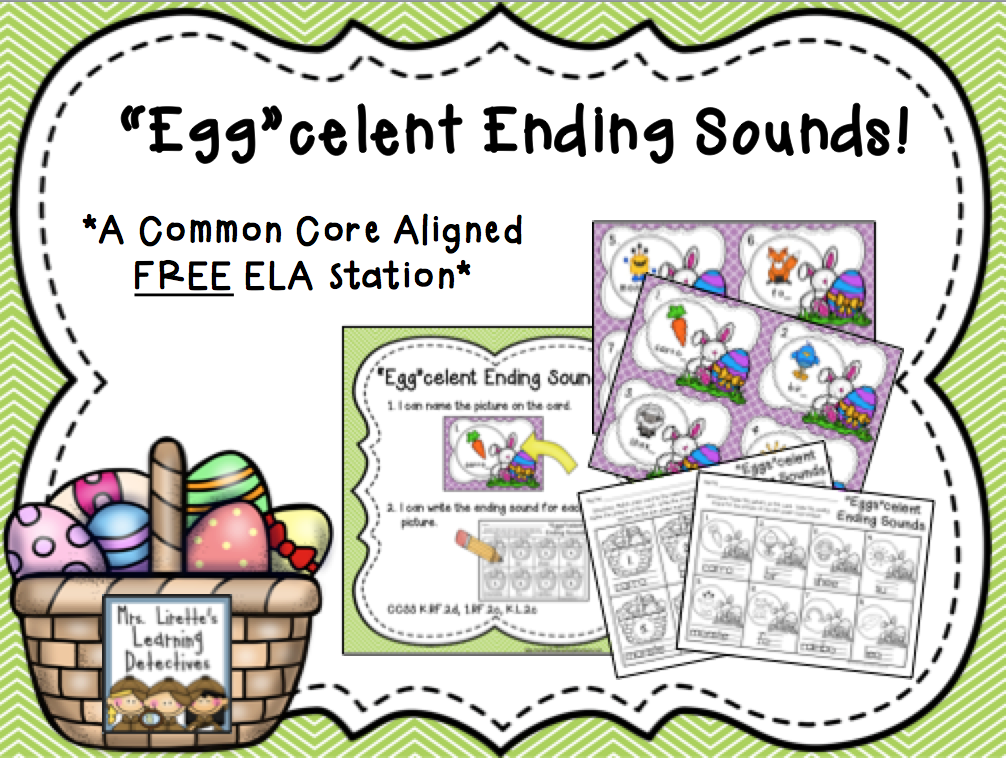 https://www.teacherspayteachers.com/Product/Eggcelent-Ending-Sounds-FREE-1782282