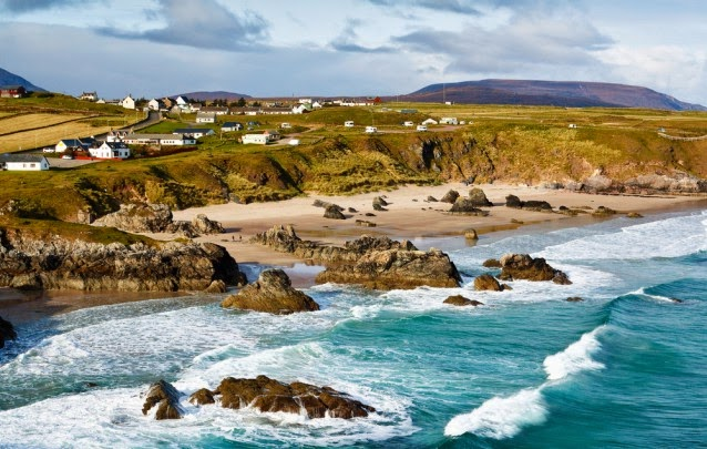 One of scotlands North Atlantic beaches located in the northwest scottish Highlands. (Credit: Shutterstock) Click to Enlarge.