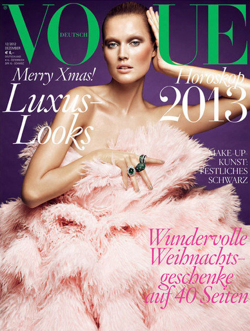 vogue germany december 2012 cover