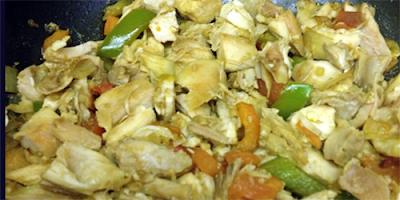 receta Pollo Picado en trozos