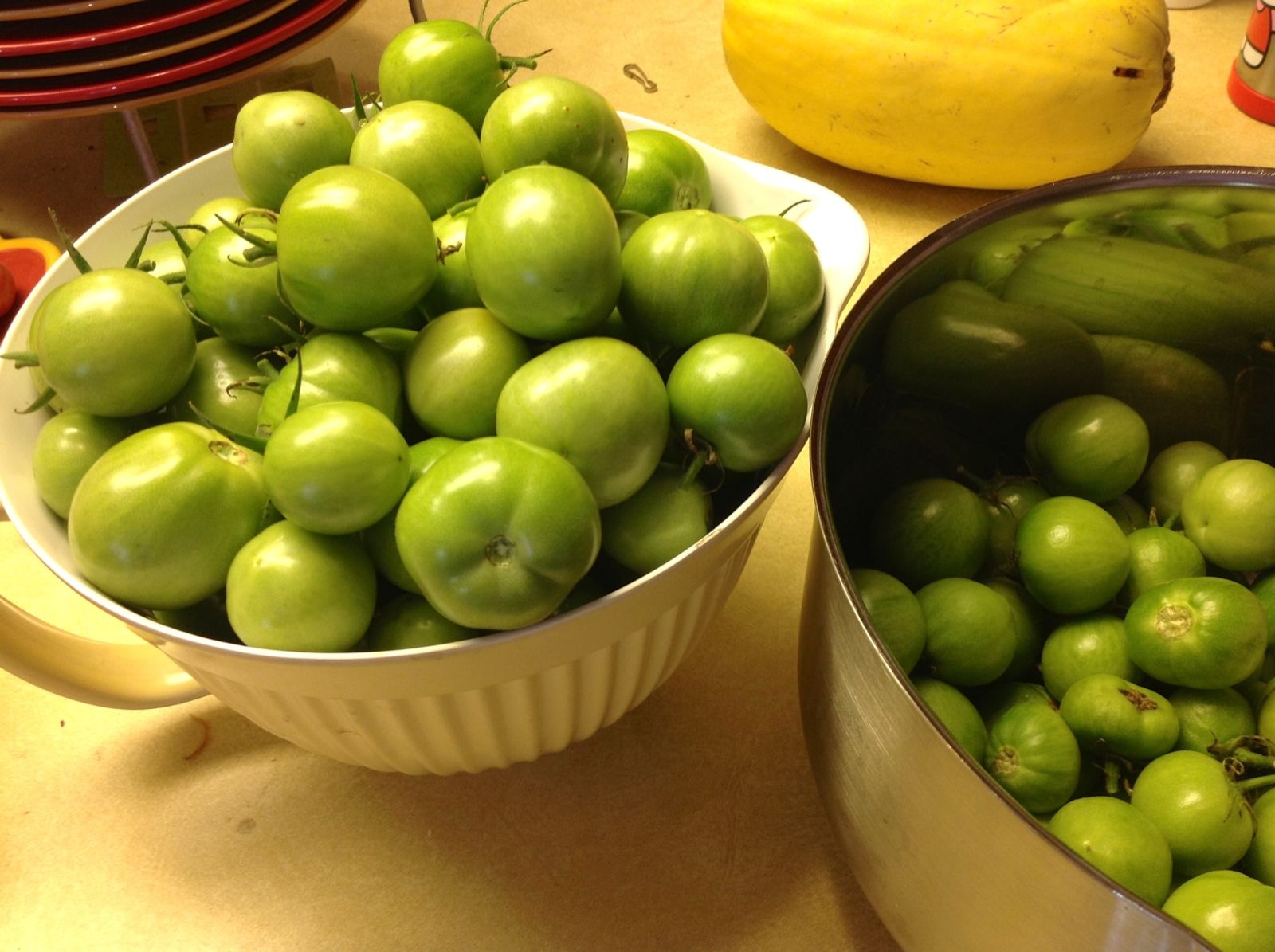 Chickadee Garden: Easy Green Tomato Chutney