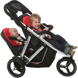 Las lectoras opinan sillas para llevar a dos hermanos muy for Sillas para 2 ninos diferente edad
