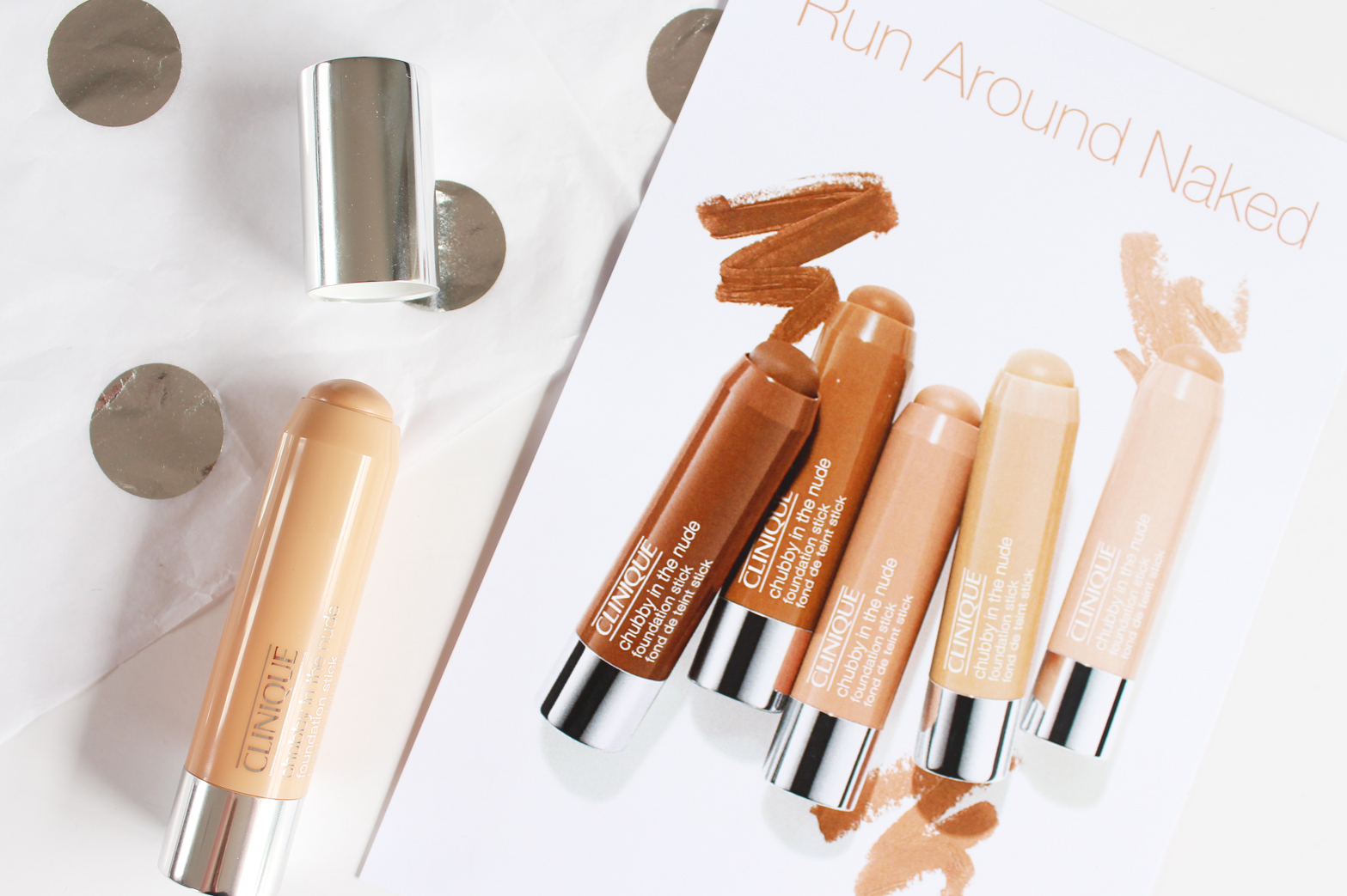 Clinique Chubby In The Nude Stick Foundation First