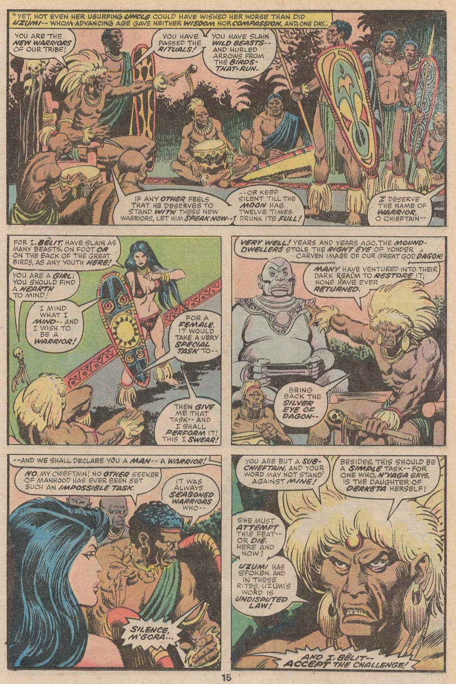 Conan the Barbarian (1970) Issue #59 #71 - English 10