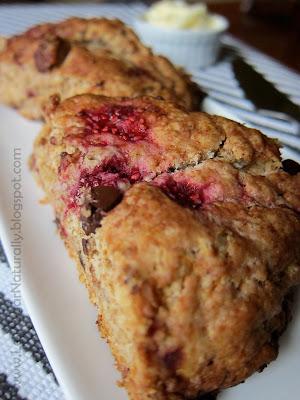 Low sugar scones