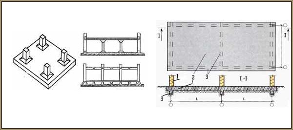 Уменьшение жесткости плиты здания