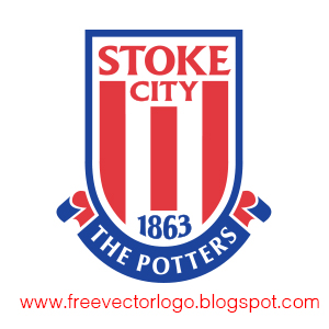 Stoke City FC logo vector