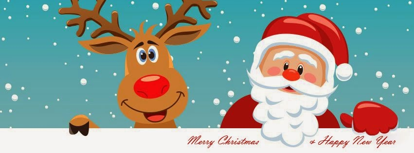 Merry Christmas and Happy New Year 2015 Facebook Timeline Covers