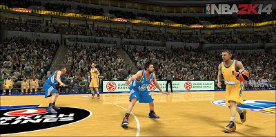 Euroleague Basketball is coming to NBA 2K14