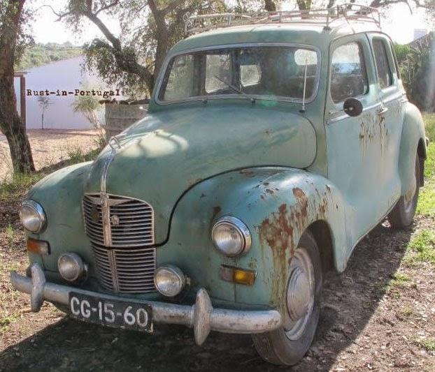 R i p rust in portugal 1948 austin a40 devon for 1948 austin devon 4 door