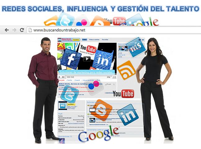 redes sociales y gestión del talento