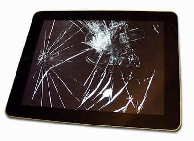 تبديل شاشة الايباد التالفة بشاشة جديدة