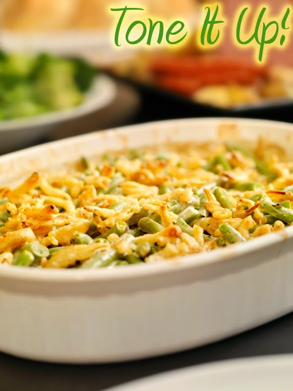 ... Fullest: Healthy Thanksgiving ideas: Tone it Up Green Bean Casseorle