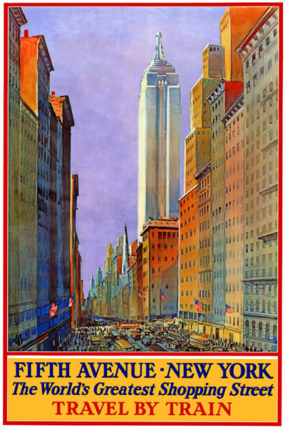 free vintage posters vintage travel posters printables new york. Black Bedroom Furniture Sets. Home Design Ideas