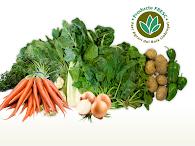 Cestas de frutas y Verduras de proximidad.