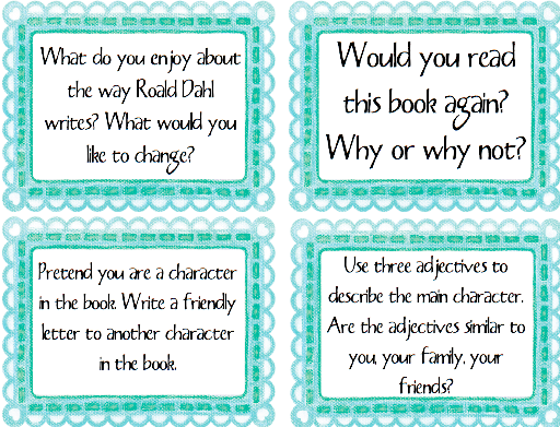 How to write reading comprehension questions