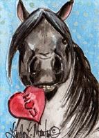 http://www.zazzle.com/valentine_pony_postcard_black-239048410297260482