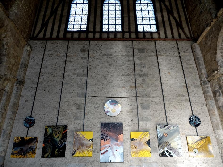 BC.PIERRON, artiste peintre: Chartres et la Collégiale Saint André